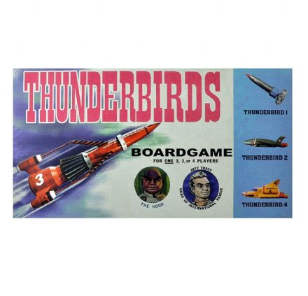 Thunderbirds - Retro Family Board Game